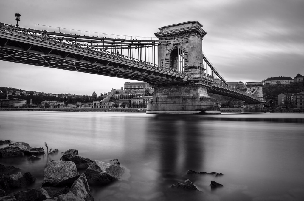 Puente de las Cadenas. Budapest